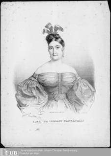 Clorinda Corradi Italian opera singer 1804-77