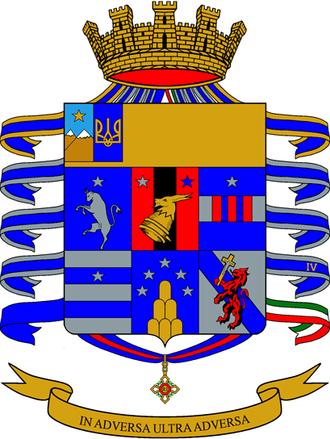 4th Alpini Paratroopers Regiment - Coat of Arms of the 4th Alpini Regiment