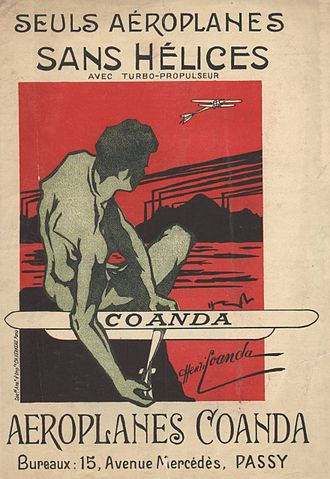 "Coandă-1910 - ""The Only Aeroplanes Without Propellers"". This promotional brochure was available at the Paris salon in 1910."