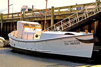 Coast Guard Motor Lifeboat CG 36500 - Image: Coast Guard Motor Lifeboat CG 36500