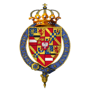 Frederick Henry, Prince of Orange - Gartered arms of Frederick Henry, Prince of Orange