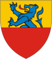 Coat of arms of the village of Englisberg.png