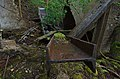Collapsed winch house, Barcombe Colliery (17835802751).jpg