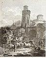 Collection de cent-vingt estampes, gravée d'après les tableaux and dessins qui composoient le cabinet de m. Poullain précédée d'un abrégé historique de la vie des auteurs qui la composent Cette suite (14592226937).jpg