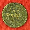 Collezione numismatica di lorenzo il magnifico, nerone, sesterzio con decursio.JPG