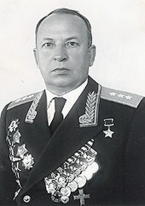 Georgy Baydukov - Image: Colonel General Georgy Baydukov