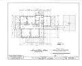 Colonel McNeal House, Union and Bills Streets, Bolivar, Hardeman County, TN HABS TENN,35-BOL,1- (sheet 2 of 16).png