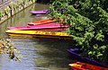 Colorful punts on the Cherwell - geograph.org.uk - 1419174.jpg