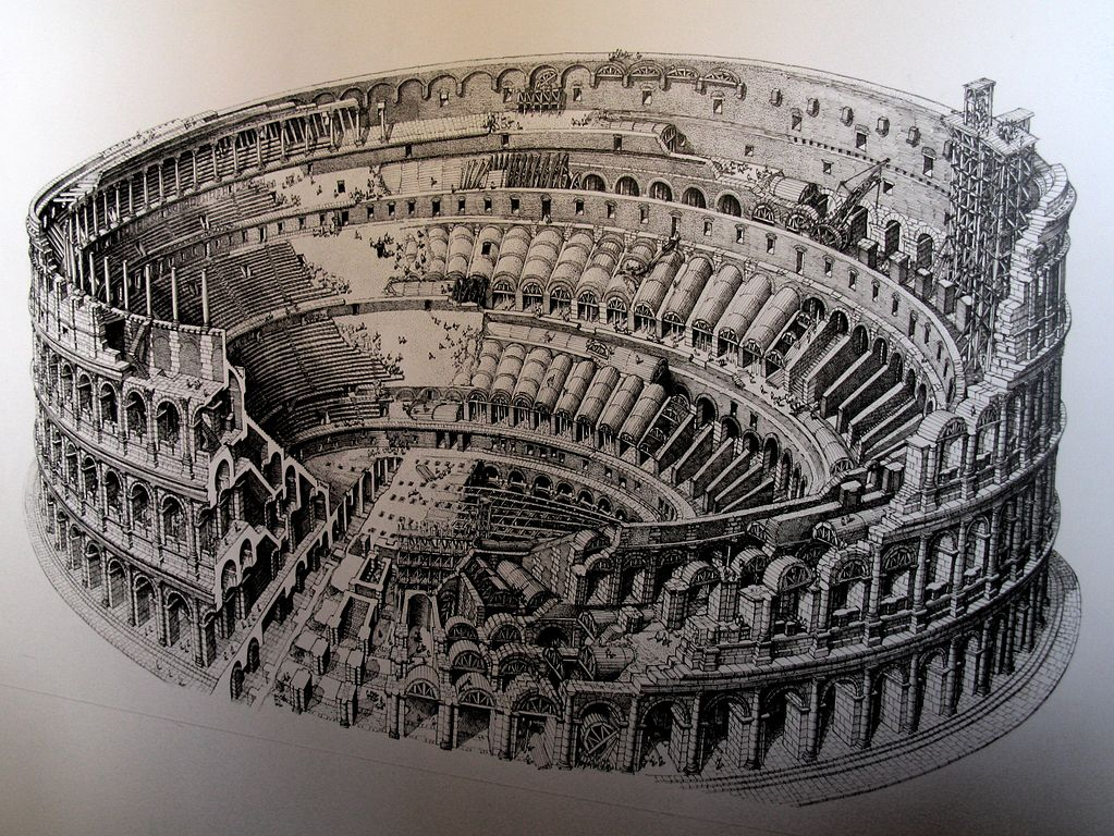 File Colosseum Drawing Jpg Wikimedia Commons