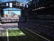 Colts v. Ravens, Lucas Oil Stadium, Indianapolis, Indiana
