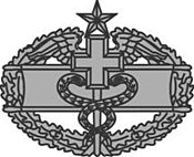 U.S. Army Combat Medical Badge, 2nd award