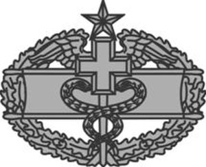 Combat Medical Badge - Second Award