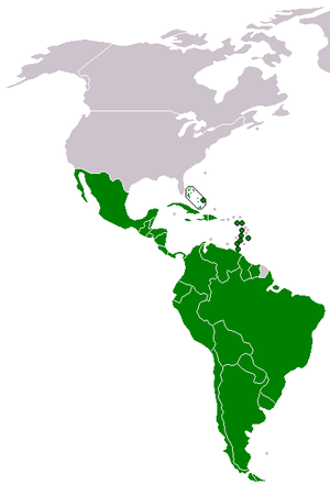 Latin American integration - Image: Community of Latin American and Caribbean States