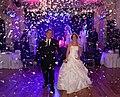 Confetti cannon at london wedding party.jpg