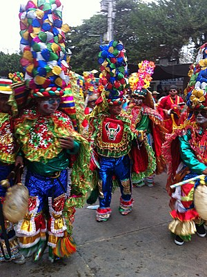 Barranquilla's Carnival - Congo dancing group.