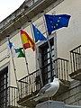 Conjunto Histórico de Cudillero, banderas del ayuntamiento.jpg