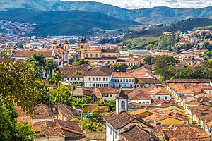 Mariana, Minas Gerais - Historical center of Mariana