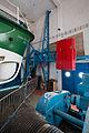 Contrepoids de la porte pivotante de la station de sauvetage en mer, Étel, France.jpg