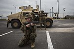 Convoy training prepares riflemen for future operations 150114-M-AS279-042.jpg