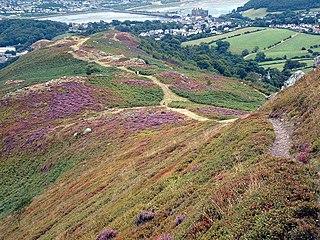 Mynydd y Dref mountain in United Kingdom