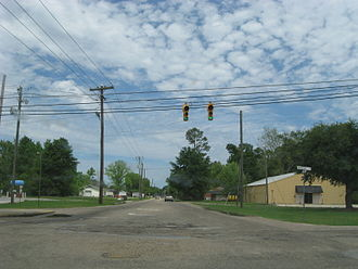 Picayune, Mississippi - Palestine Road and Beech Street