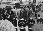 Cortina 1956 Winter Olympics - Olympic flame in Rome.jpg