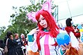 Cosplayer of Ahri, League of Legends at CWT41 20151212g.jpg