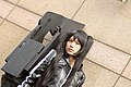 Cosplayer of Black Rock Shooter at FF19 20120204b.jpg