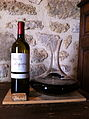 Cotes de Bordeaux Castillon Wine in decanter.jpg