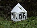 County marker post - geograph.org.uk - 892304.jpg