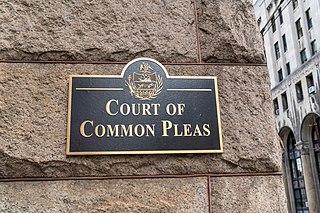 Pennsylvania courts of common pleas