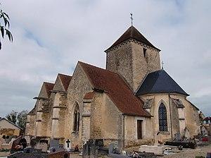 Courtenot - Image: Courtenot église