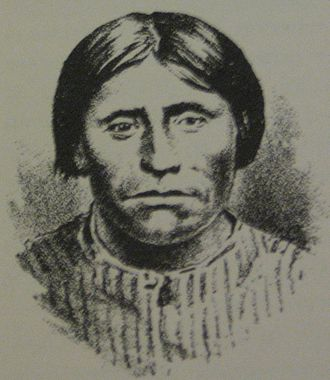 Modoc people - Kintpuash (Captain Jack), a Modoc leader in the Modoc War.
