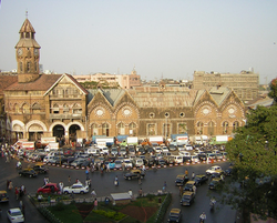 View of Crawford Market