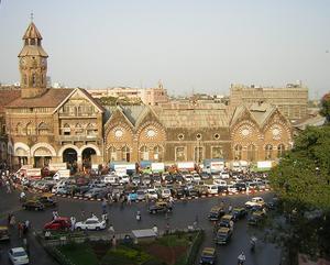 Mahatma Jyotiba Phule Mandai - View of Crawford Market