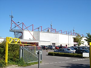 Broadfield Stadium - Image: Crawley Entrance to Broadfield Stadium