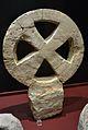 Creu calada en aspa, Pla de Nadal, Museu de Prehistòria de València.JPG