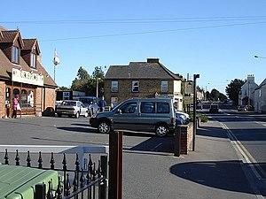 Teynham - Image: Crispins Fish Bar, Teynham geograph.org.uk 272360