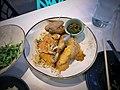 Crispy Chicken, Pasture Raised Local Chicken, Scallion Ginger Vinaigrette, Bean Sprouts.jpg