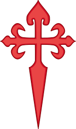 Cross of Saint James.svg