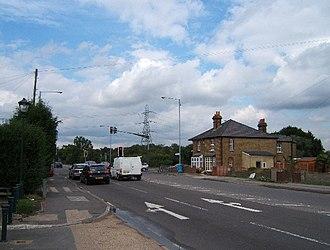 Malden Rushett - Image: Crossroads at Malden Rushett geograph.org.uk 33868