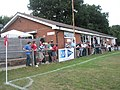 Crowd outside the clubhouse at Petersfield Town - geograph.org.uk - 1971891.jpg