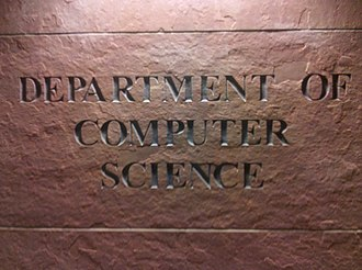 University of Colorado Boulder Computer Science Department - Entrance to the department in the Engineering Center at the University of Colorado Boulder