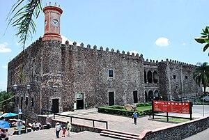 Palace of Cortés, Cuernavaca - Image: Cuernavaca Palacio Cortes