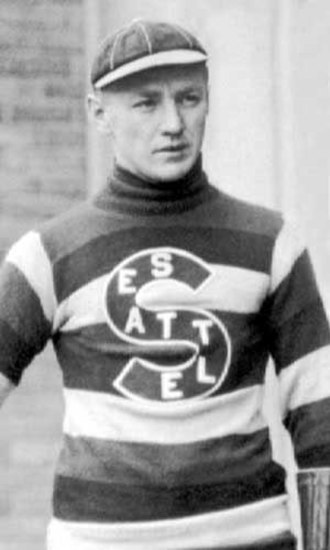 Cully Wilson - Cully Wilson with the Seattle Metropolitans.