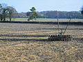 Cultivator in field of stubble - geograph.org.uk - 117770.jpg
