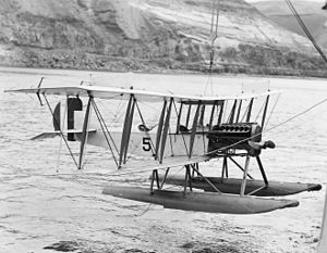 Curtiss Model R - A U.S. Navy R-9.