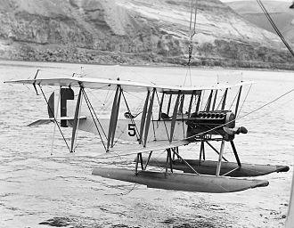 Curtiss Model R - A U.S. Navy R-9.