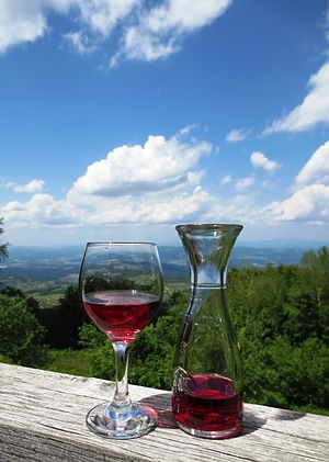 Slovenian wine - Wine of the Gorjanci region at Žumberak Mountains