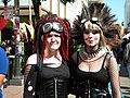 Cyber-Goths at How Weird Street Faire, 2012 (7193708710).jpg